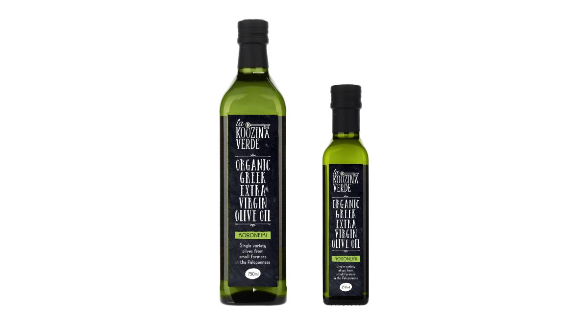 New: La Kouzina Verde Organic Greek Extra Virgin Olive Oil